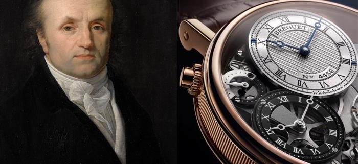 Абрахама-Луи Бреге - основатель компании Breguet