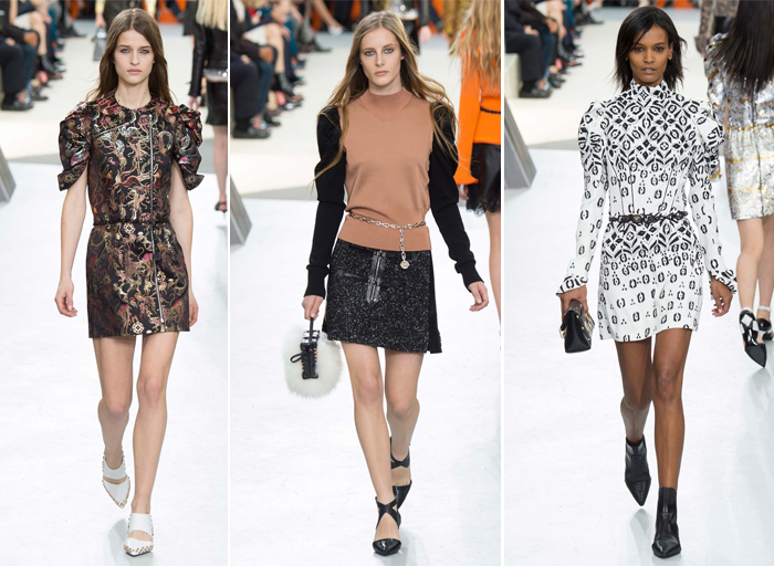 Louis Vuitton одежда с пышными рукавами