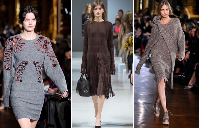 одежда с длинными рукавами от Stella McCartney и Nina Ricci сезона осень-зима 2015-2016