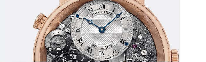 большой верхний циферблат часов Breguet 7067BR/G1/9W6