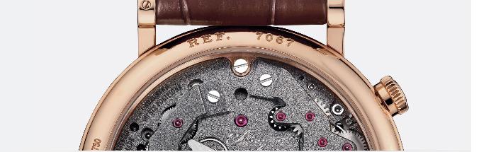 часовой механизм модели Breguet Tradition 7067BR/G1/9W6