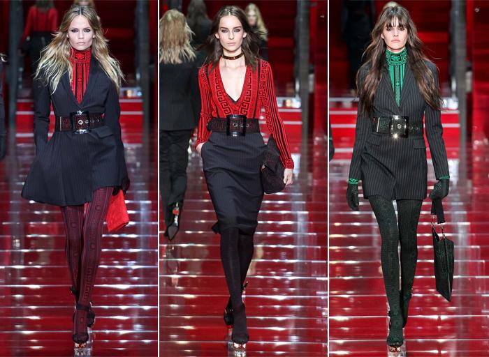 цветные колготки Versace