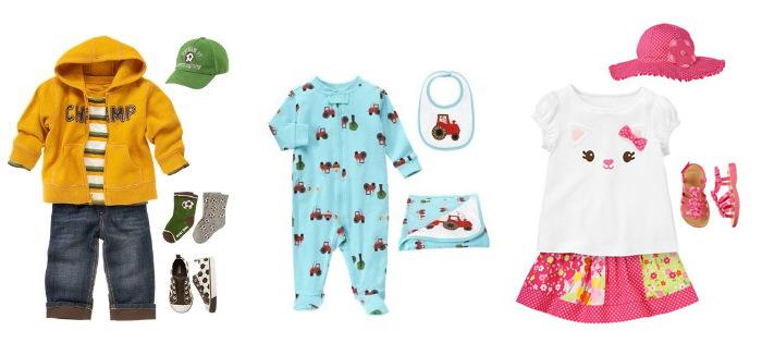 Gymboree-детские наряды для самых маленьких