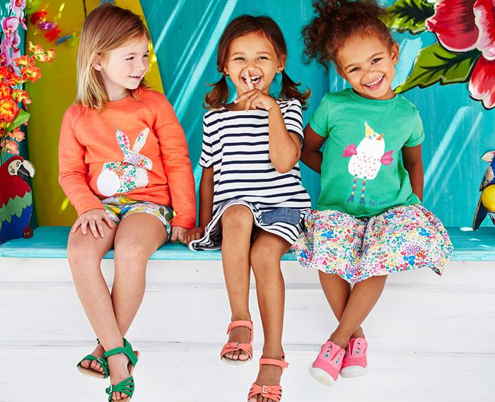 модная детская одежда из трикотажа
