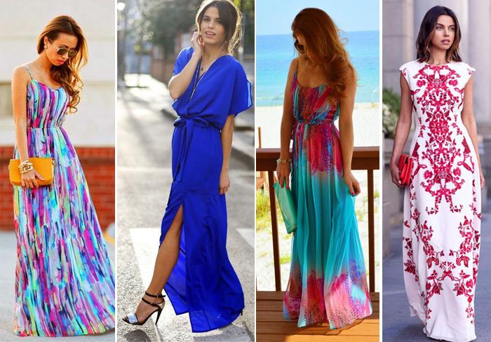 длинные юбки-морской стиль
