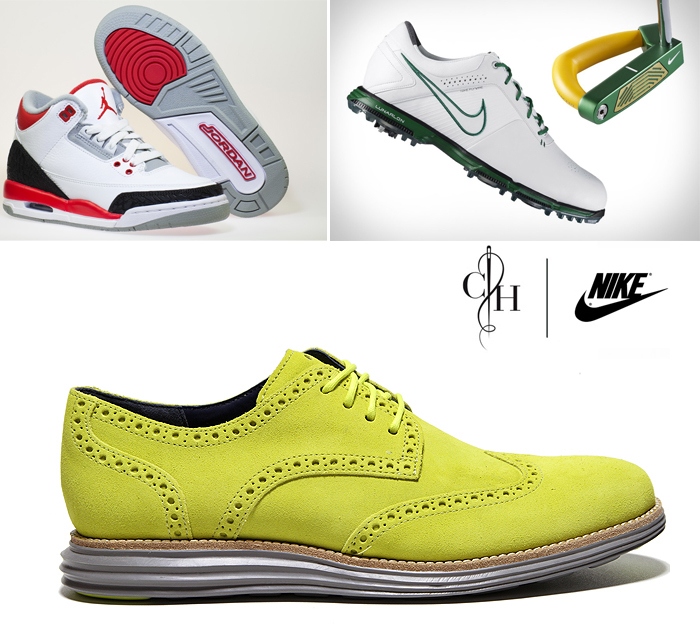 дочерние бренды Nike: Golf, Pro, Air Jordan, Cole Haan, Converse