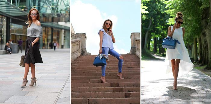 гармоничное сочетание одежды-французский стиль