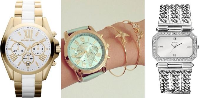 женские наручные часы с кварцевыми и механическими часовыми механизмами