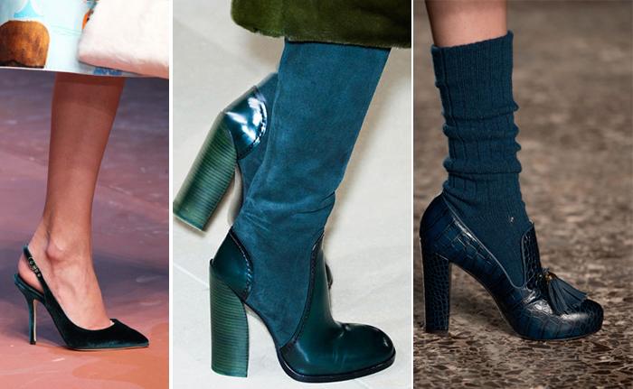 модный показ Stella Jean: лодочки бирюзового цвета поверх гольфов