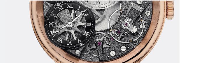 малый нижний циферблат механических часов Breguet 7067BR/G1/9W6