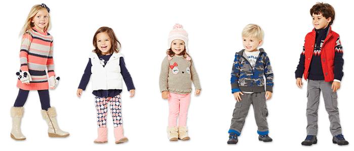 стильные и практичные наряды Gymboree для детей