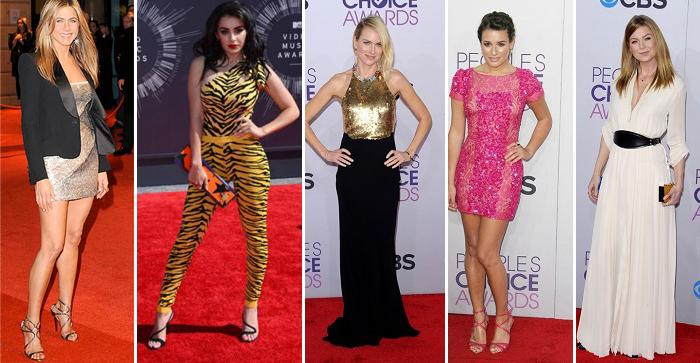 модные тенденции-наряды звезд кино