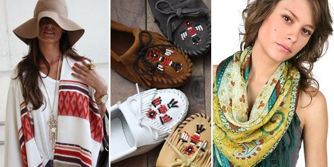 модные мокасины в этническом стиле