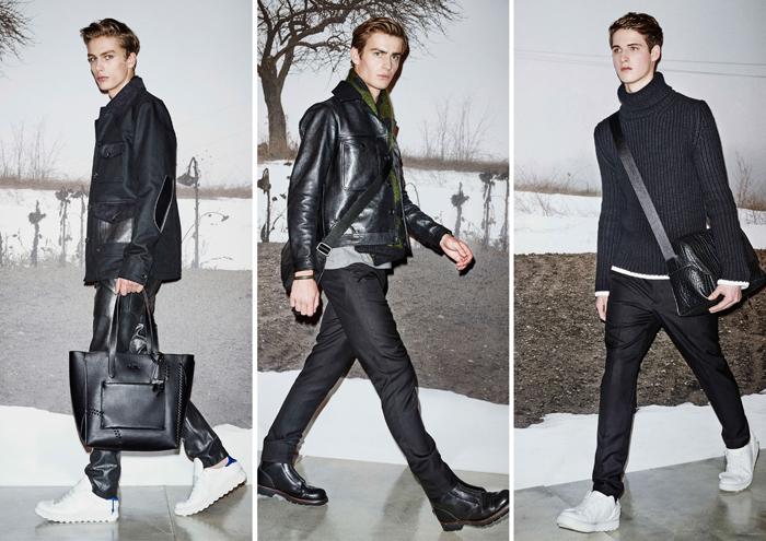 мужская одежда чёрного цвета