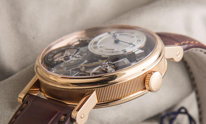 наружное рифление на корпусе часов Breguet Tradition 7067BR/G19/W6