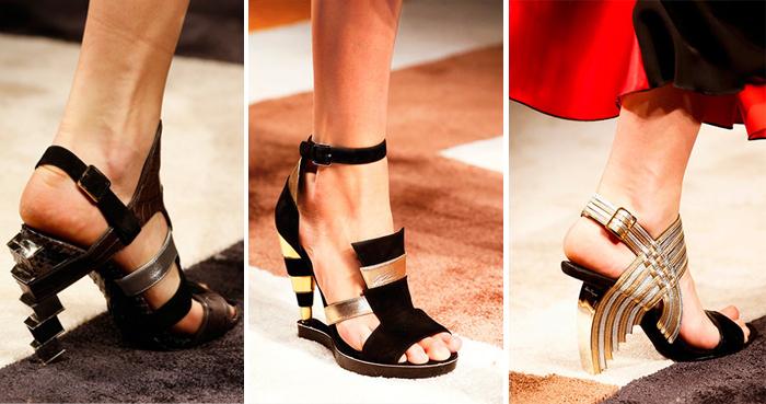 показ коллекции обуви Salvatore Ferragamo