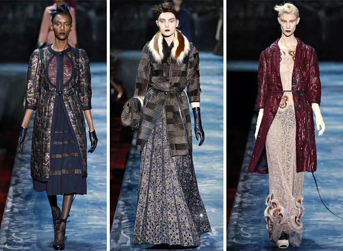 блеск одежды Marc Jacobs 2015-2016
