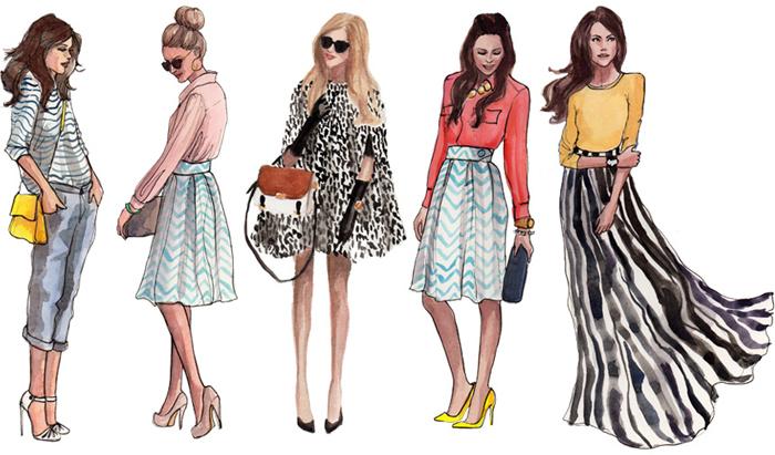 одежда для девушек с высоким ростом