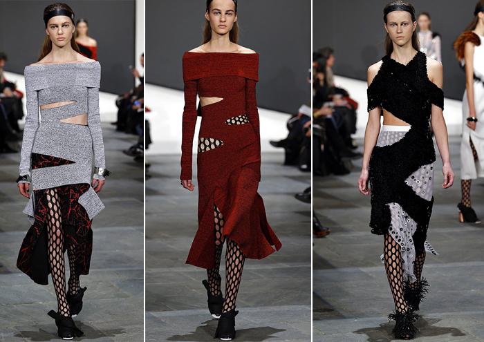 платья с разрезами от Proenza Schouler
