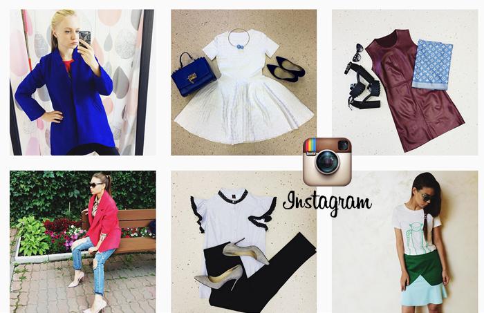 покупка одежды в instagram