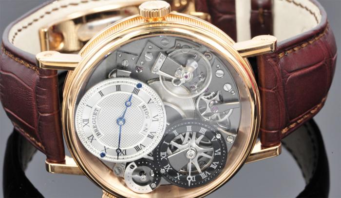 противоударный механизм часов Breguet Tradition 7067BR/G1/9W6