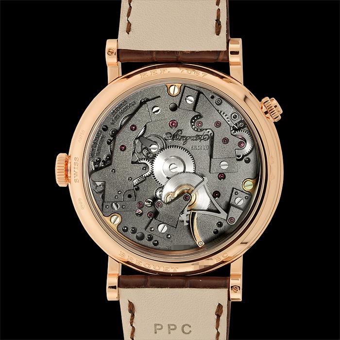40 рубиновых камней часового механизма Breguet Tradition 7067BR/G1/9W6