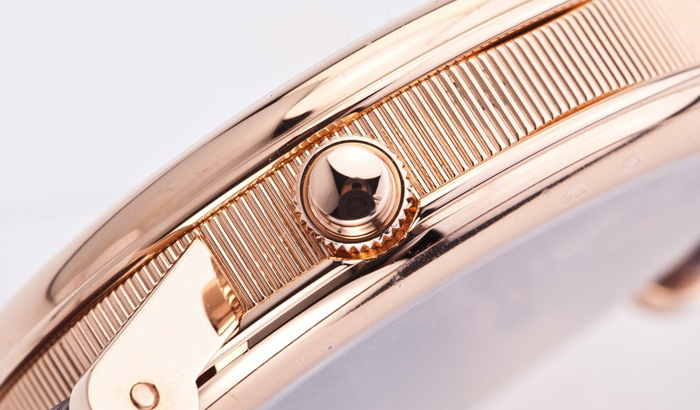 ручной завод механических мужских часов Breguet Tradition 7067BR/G1/9W6