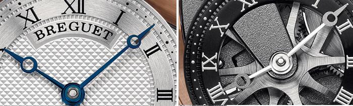 стрелки наручных часов Breguet Tradition 7067BR/G1/9W6