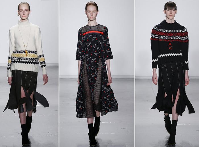 стильные юбки со складками разрезами Sano