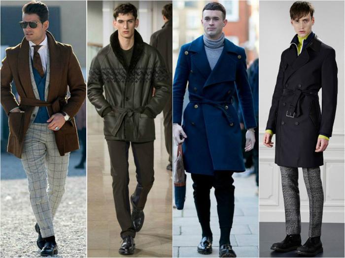 мужская одежда-тренды осеннего сезона