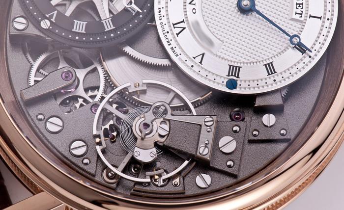 турбийон часового механизма Breguet Tradition 7067BR/G1/9W6