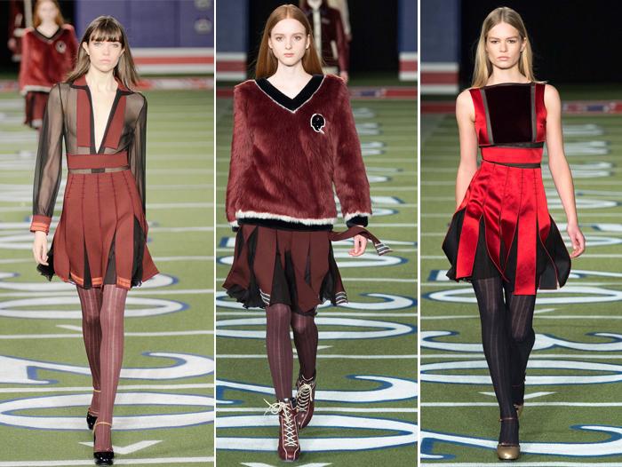 модные юбки сезона осень-зима 2015-2016 от Tommy Hilfiger