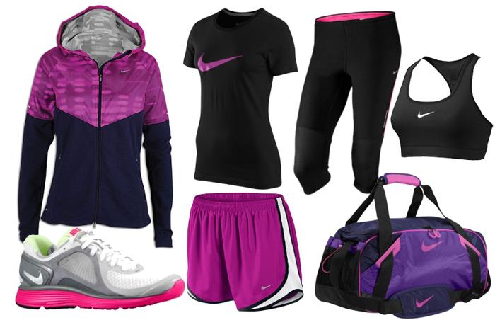 узнаваемые одежда и обувь Nike