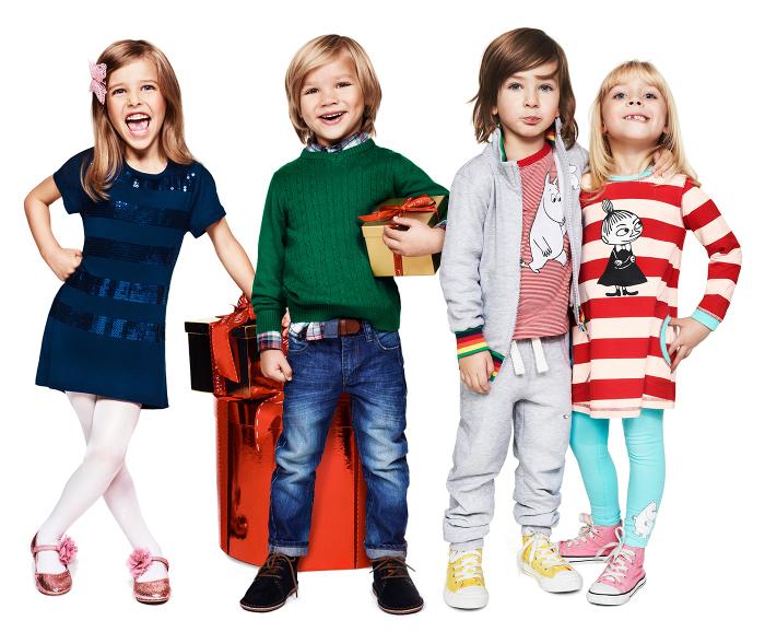 одежда из трикотажа для мальчиков и девочек