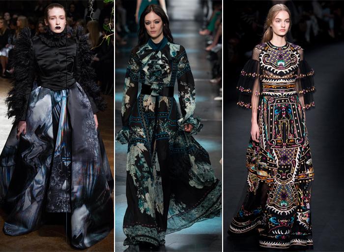 викторианский стиль-мода 2015-2016