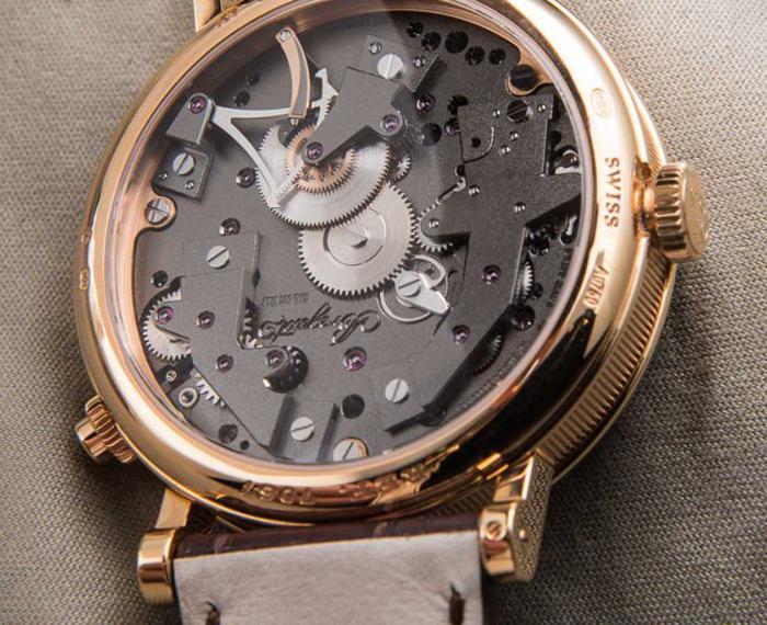 задняя крышка корпуса часов Breguet Tradition 7067BR/G1/9W6