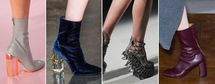 женская обувь с прозрачным каблуком