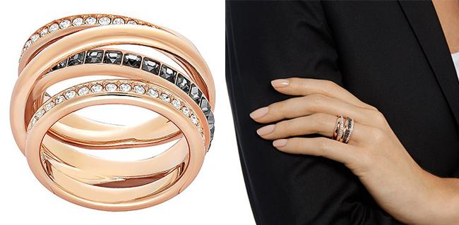 женское кольцо Swarovski Dynamic из коллекции Winter Gardens