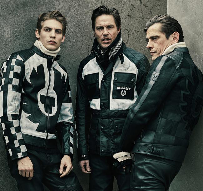 кожаные мужские куртки Belstaff
