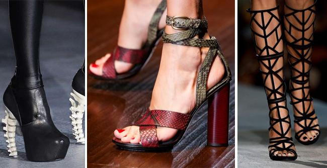 модная женская обувь-стиль,цвета и материалы