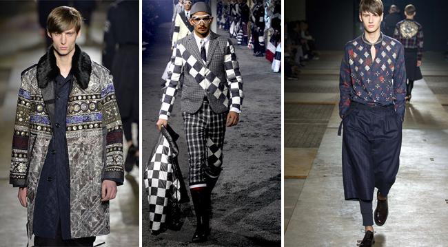 модные орнаменты мужской одежды