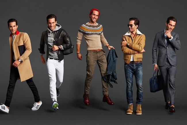 мужская мода без границ