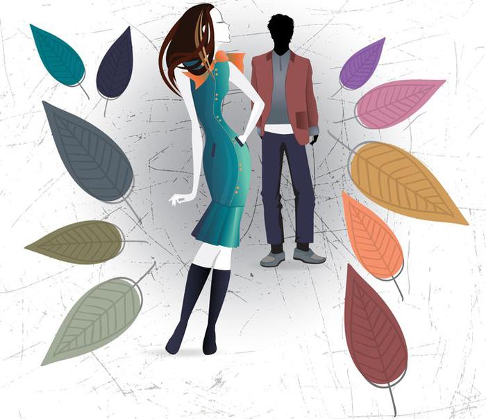 10 модных цветовых оттенка предложенные институтом Pantone Color
