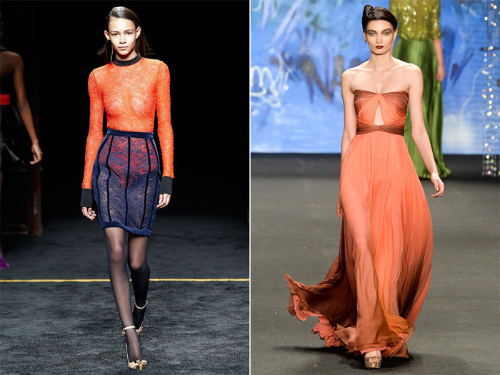 Cadmium Orange-модный персиковый цвет