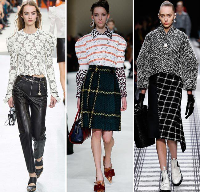 баланс пропорций одежды сезона осень-зима 2016