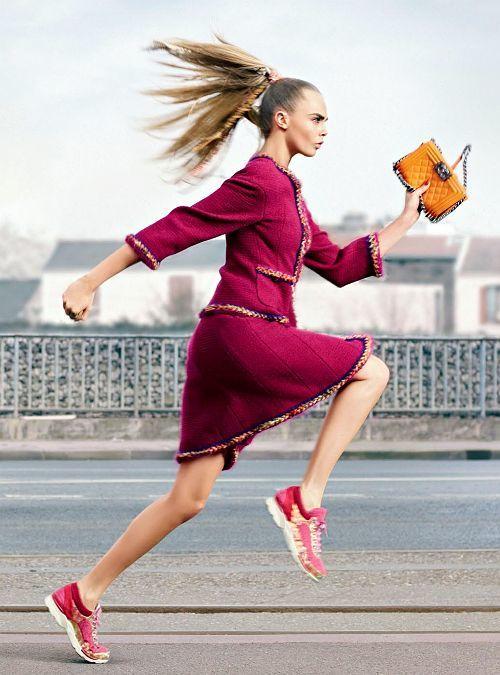 спортивная обувь увеличивает скорость передвижения