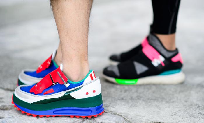 дизайн зимней спортивной обуви