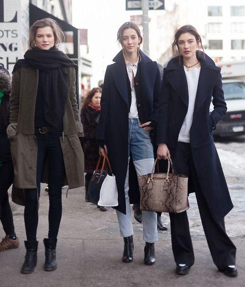французские модницы
