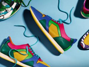 модные кроссовки на тонкой подошве
