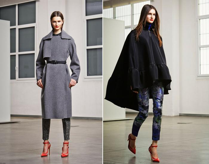 модные итальянские пальто от Антонио Берарди